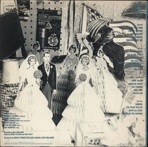 Bruce Springsteen The River - Gold Promo Stamped + Photo 2-LP vinyl record set (Double Album) UK SPR2LTH734475