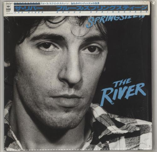 Bruce Springsteen The River - Opened Shrink 2-LP vinyl record set (Double Album) Japanese SPR2LTH602929
