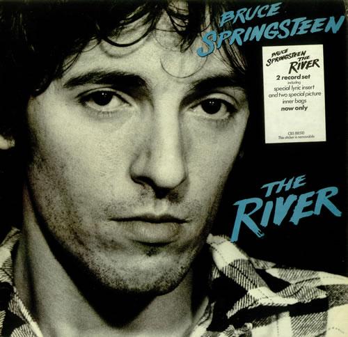 Bruce Springsteen The River - Stickered P/S - Complete 2-LP vinyl record set (Double Album) UK SPR2LTH250090