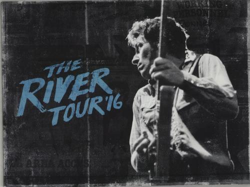 Bruce Springsteen The River Tour '16 tour programme UK SPRTRTH663183