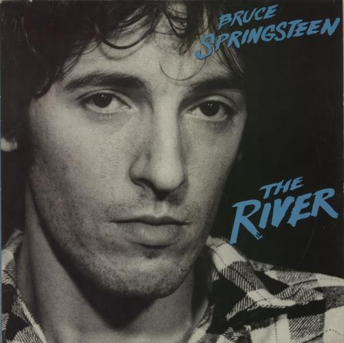 Bruce Springsteen The River- Stickered sleeve + Lyric insert 2-LP vinyl record set (Double Album) Dutch SPR2LTH656334