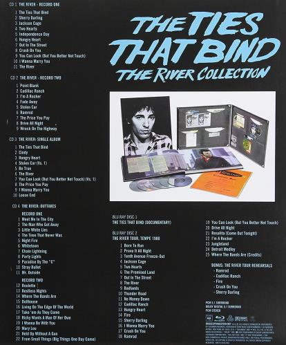 Bruce Springsteen The Ties That Bind: The River Collection + Blu-Ray box set UK SPRBXTH673697