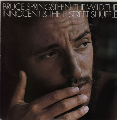 Bruce Springsteen The Wild, The Innocent And The E Street Shuffle vinyl LP album (LP record) Japanese SPRLPTH592287