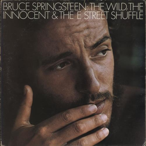 Bruce Springsteen The Wild, The Innocent And The E Street Shuffle vinyl LP album (LP record) Japanese SPRLPTH711092