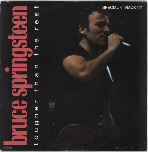 "Bruce Springsteen Tougher Than The Rest 12"" vinyl single (12 inch record / Maxi-single) UK SPR12TO42034"