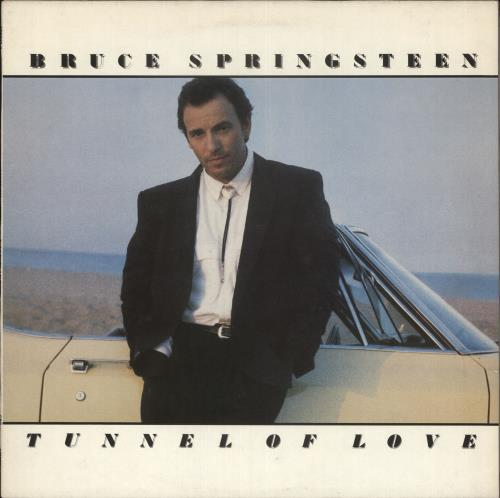 Bruce Springsteen Tunnel Of Love - Promo Stamped vinyl LP album (LP record) UK SPRLPTU734482