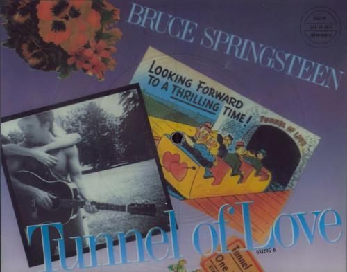 Bruce Springsteen Tunnel Of Love shaped picture disc (picture disc vinyl record) UK SPRSHTU22456