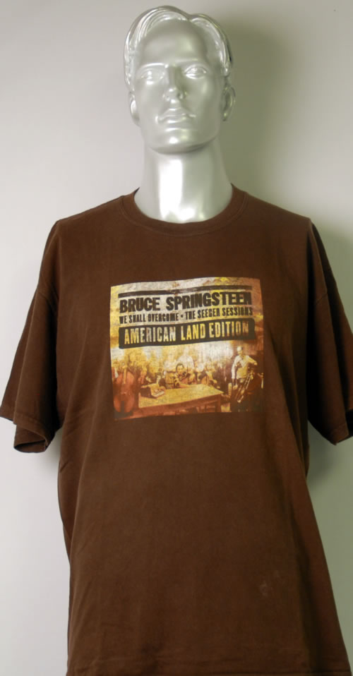 Bruce Springsteen We Shall Overcome: The Seeger Sessions - Extra large t-shirt UK SPRTSWE613790