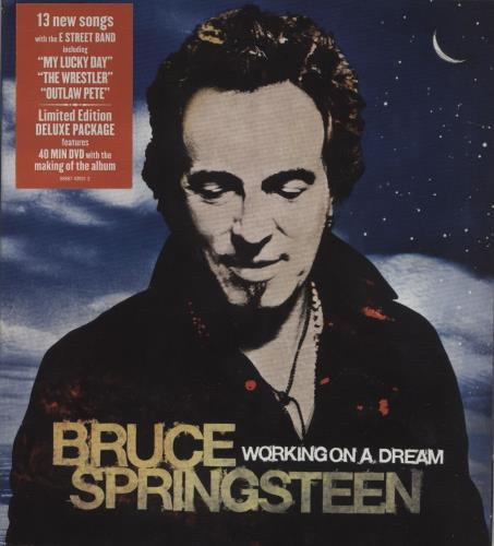 Bruce Springsteen Working On A Dream 2-disc CD/DVD set UK SPR2DWO458724