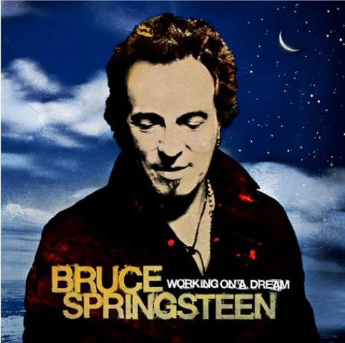Bruce Springsteen Working On A Dream 2-LP vinyl record set (Double Album) UK SPR2LWO458725