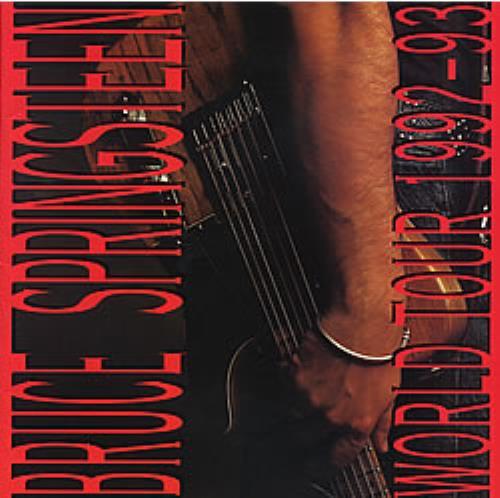 Bruce Springsteen World Tour 1992-93 tour programme UK SPRTRWO44125