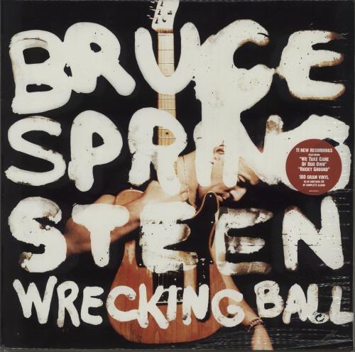 Bruce Springsteen Wrecking Ball - 180gram Vinyl + CD - Sealed 2-LP vinyl record set (Double Album) UK SPR2LWR556139
