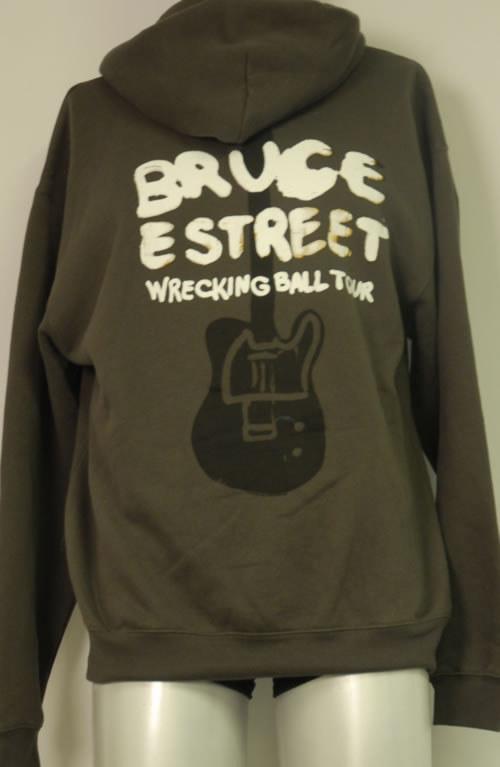 Bruce Springsteen Wrecking Ball Tour 2012 - Hoody clothing UK SPRMCWR613534