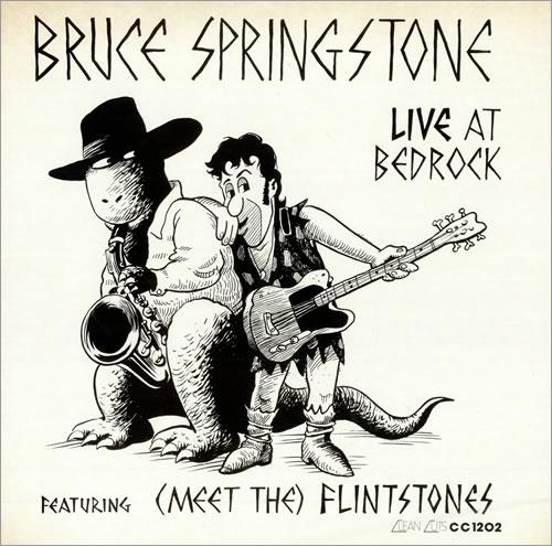 "Bruce Springstone Live At Bedrock 12"" vinyl single (12 inch record / Maxi-single) US B.S12LI220520"