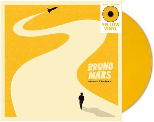 Bruno Mars Doo-Wops & Hooligans - Yellow Vinyl vinyl LP album (LP record) UK B80LPDO759057