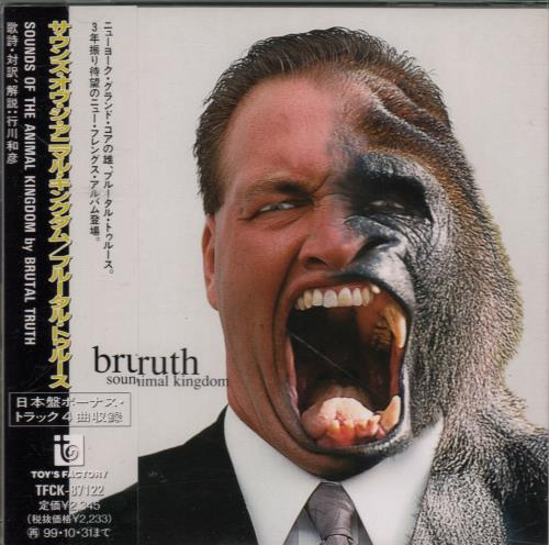 Brutal Truth Sounds Of The Animal Kingdom CD album (CDLP) Japanese IRUCDSO647961