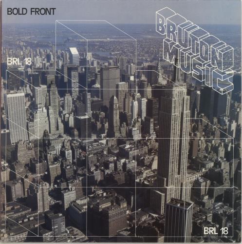 Bruton Music Bold Front vinyl LP album (LP record) UK QRULPBO690262
