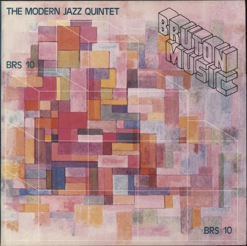 Bruton Music The Modern Jazz Quintet vinyl LP album (LP record) UK QRULPTH690248