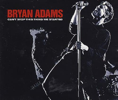 We Cant Stop Single Cover Bryan Adams Can't Stop...