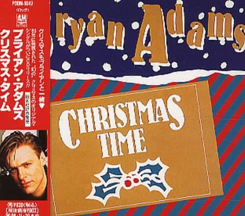 "Bryan Adams Christmas Time 3"" CD single (CD3) Japanese ADAC3CH177957"