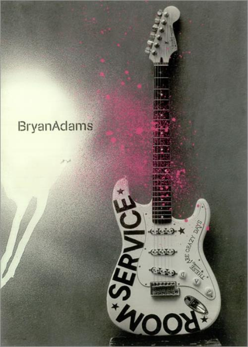 Bryan Adams Room Service Japanese Promo book (450858) PROMO BOOKLET