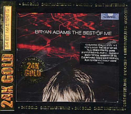 Bryan Adams The Best Of Me Malaysia Cd Album Cdlp 254935