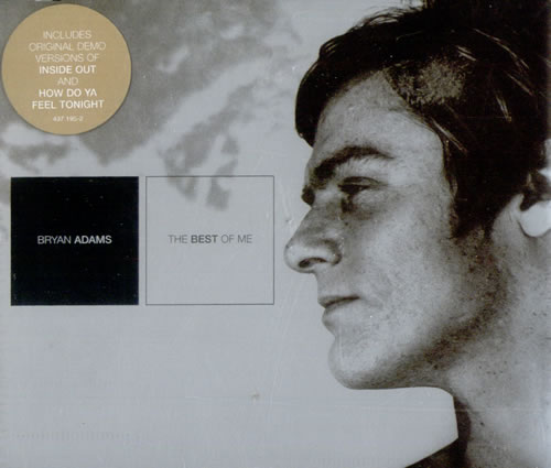 "Bryan Adams The Best Of Me CD single (CD5 / 5"") European ADAC5TH528140"