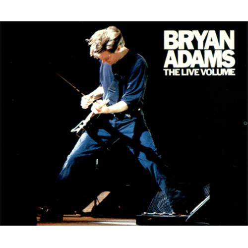 "Bryan Adams The Live Volume CD single (CD5 / 5"") Japanese ADAC5TH140283"