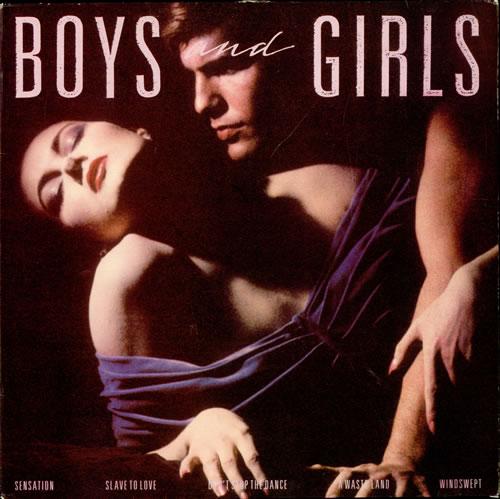 Bryan Ferry Boys And Girls vinyl LP album (LP record) UK FERLPBO266125