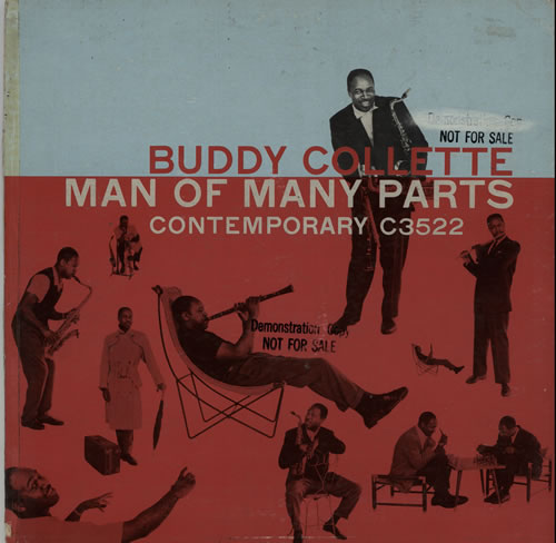 Buddy Collette Man Of Many Parts - Sample vinyl LP album (LP record) US 6BCLPMA633853