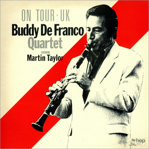 Buddy De Franco On Tour - UK vinyl LP album (LP record) UK YDFLPON471990