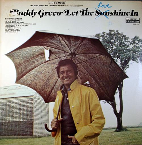 Buddy Greco Let The Love Shine In vinyl LP album (LP record) UK BG2LPLE559663