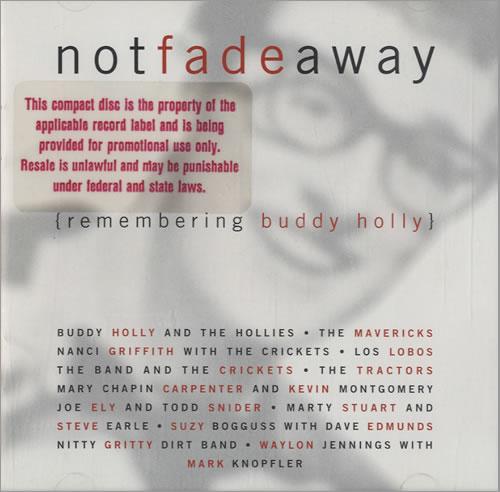 Buddy Holly Not Fade Away - Remembering Buddy Holly CD album (CDLP) US BDHCDNO476982