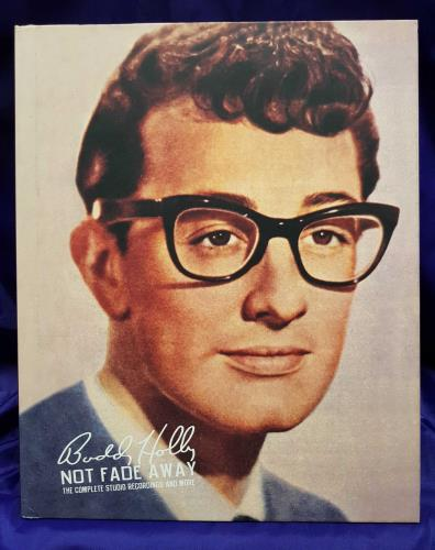 Buddy Holly Not Fade Away: The Complete Studio Recordings And More 6-CD album set US BDH6CNO710262