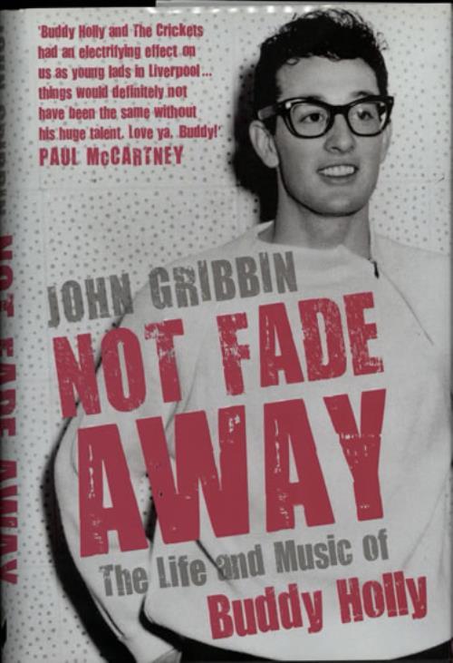 Buddy Holly Not Fade Away book UK BDHBKNO579398