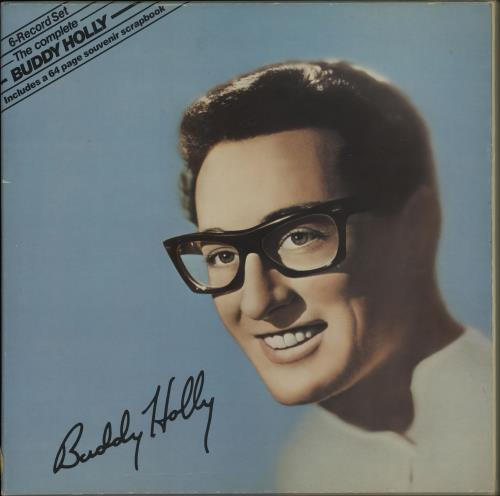 Buddy Holly The Complete Buddy Holly Uk Cassette Box