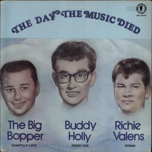 Buddy Holly The Day The Music Died vinyl LP album (LP record) US BDHLPTH766882