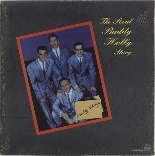 Buddy Holly The Real Buddy Holly Story vinyl LP album (LP record) US BDHLPTH699833