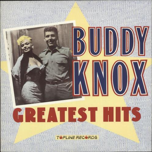 Buddy Knox Greatest Hits vinyl LP album (LP record) UK 8BKLPGR689059
