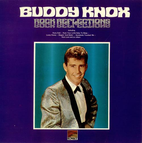 Buddy Knox Rock Reflections vinyl LP album (LP record) UK 8BKLPRO494608
