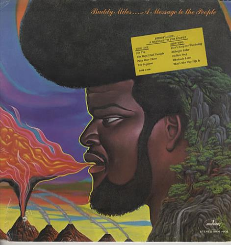 Buddy Miles A Message To The People - Sealed vinyl LP album (LP record) US BMELPAM333404