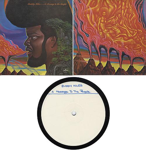 Buddy Miles A Message To The People - Test Pressing vinyl LP album (LP record) UK BMELPAM322113