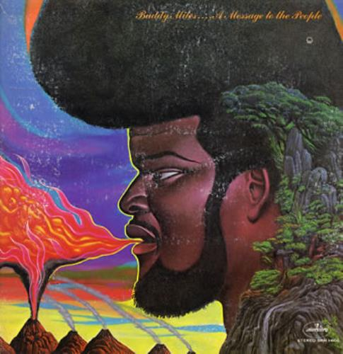 Buddy Miles A Message To The People vinyl LP album (LP record) US BMELPAM315440