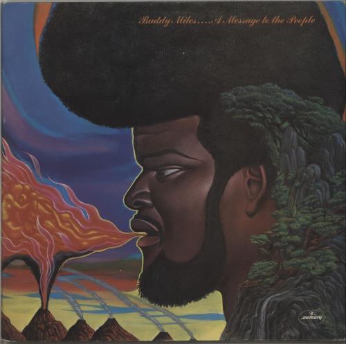 Buddy Miles A Message To The People vinyl LP album (LP record) UK BMELPAM656854
