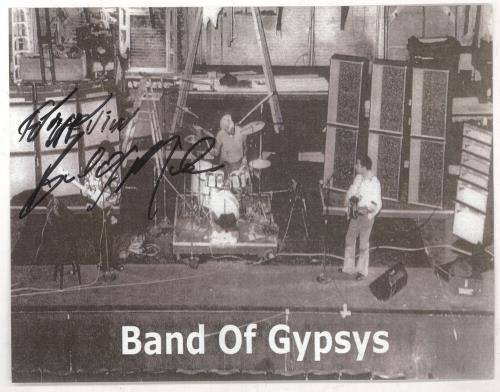 Buddy Miles Band Of Gypsys Picture Signed By Buddy Miles memorabilia US BMEMMBA740269