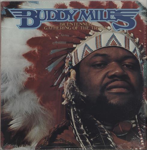 Buddy Miles Bicentennial Gathering Of The Tribes vinyl LP album (LP record) US BMELPBI656857