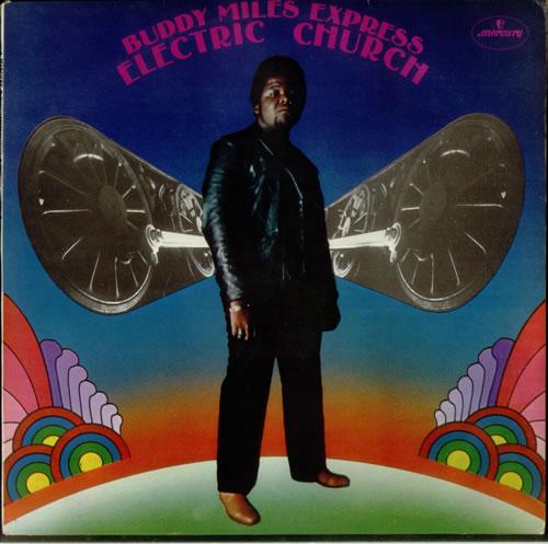 Buddy Miles Electric Church vinyl LP album (LP record) UK BMELPEL210916