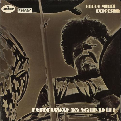 Buddy Miles Expressway To Your Skull - EX vinyl LP album (LP record) UK BMELPEX739281