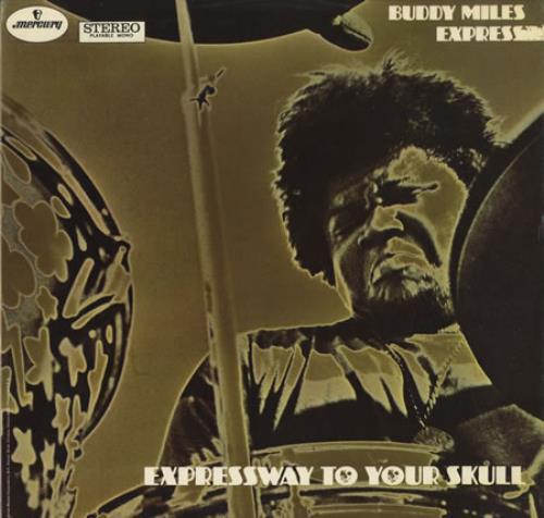Buddy Miles Expressway To Your Skull vinyl LP album (LP record) UK BMELPEX210915