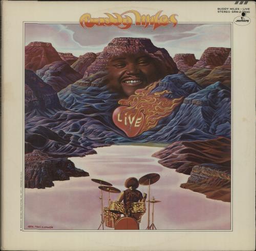 Buddy Miles Live 2-LP vinyl record set (Double Album) US BME2LLI656855